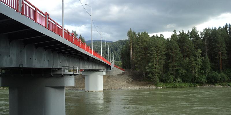 Обследование моста через